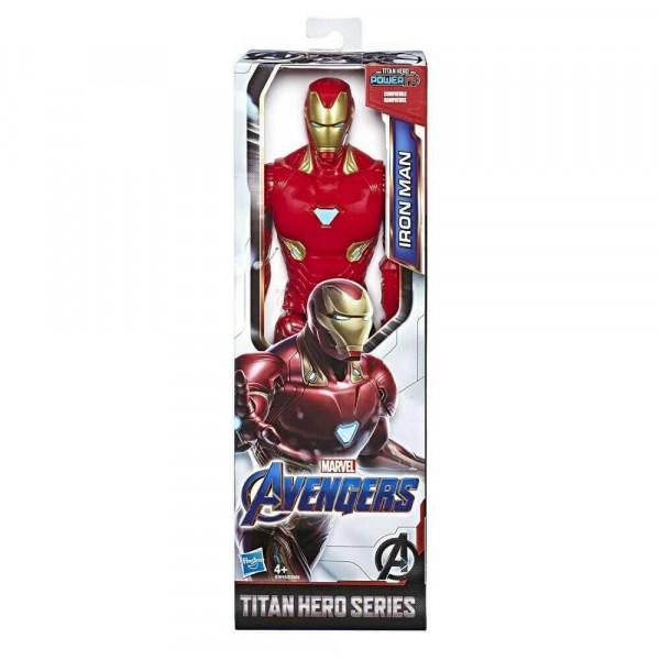 Marvel Avengers Titan Hero Series Iron Man Action Figure, Giocattolo Da 30,5 Cm, Ispirato All'universo Marvel, Per Bambini Dai 4 Anni