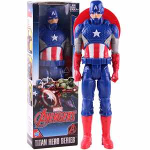 AVN TITAN HERO FIGURE CAPTAIN AMERICA