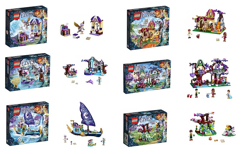LEGO Elves 2015 - Set e Personaggi